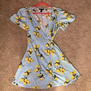 Forever 21 Wrap Dress LEMONS!